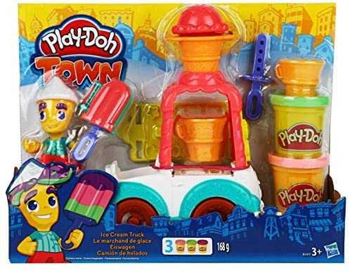 Hasbro Play-Doh- Play-Doh Il Carretto Dei Gelati, AF94252