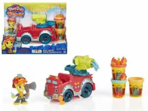 Hasbro Play-Doh Playdoh Town Il Camion Dei Pompieri, B3416
