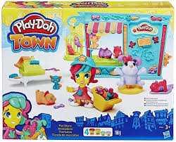 Hasbro Play-Doh Playdoh Town Il Negozio Degli Animali, HA-B3418