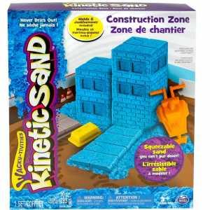 Kinetic Sand 6027987 - Playset Costruzioni