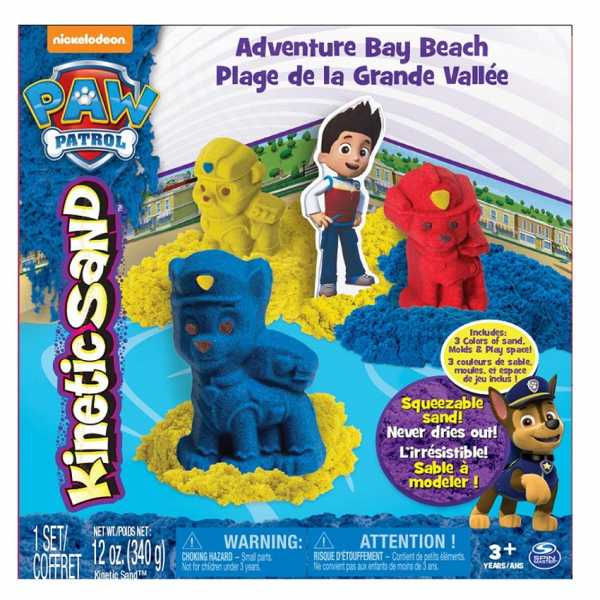 Kinetic Sand Sabbia Modellabile Paw Patrol, 6027965