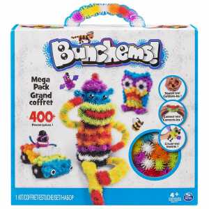Bunchems 6026103 - Mega Pack, 400 Pz, Modelli Assortiti