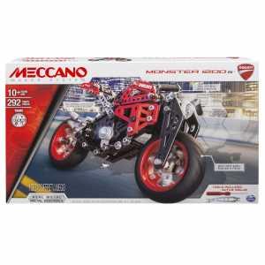 Meccano Ducati Monster 1200, Pezzi In Metallo, 294 Pezzi