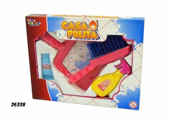 SCATOLA PULIZIA CASA PULITA 4 - Toys Garden (26338)