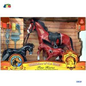 Ginmar Gt50929 Cavallo E Famiglia C/accessori