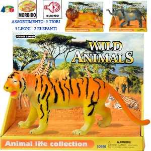 ANIMALI SAVANA VOCE 3 SOGGETTI - Ginmar (50990)