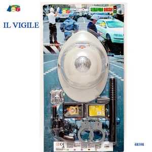 Ginmar Gt68598 Blister Vigile C/casco
