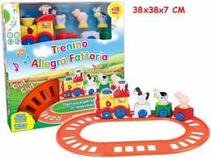 Teorema 64263 - Trenino Allegra Fattoria Con Animali, Melodie E Luci