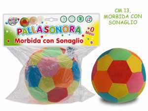 PI PALLA SONAGLIO MORBIDA 13CM - Teorema (61648)
