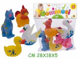GOMMOLOSI ANIMALE FATTORIA 5pz 72192