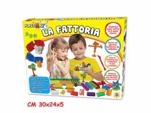 Teorema 63992 - PlastiArt La Fattoria 8 Colori Di Plastilina