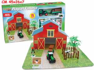 PLAYSET FATTORIA DIE CAST