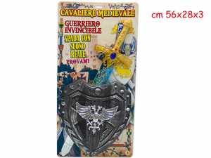 Teorema - Bl.cavaliere Med. Con Spada B/o E Scudo 64057 Teorema - 40797