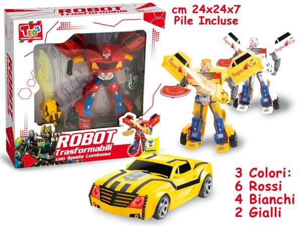 ROBOT TRASFORMABILE 3A - Teorema (64456)