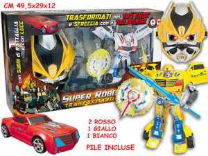 ROBOT C/MASCHERA 64458