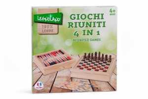 Globo Giocattoli Globo-365504-in-1Legnoland Giochi In Legno