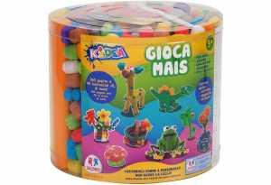Kidea 37244 - Barattolo Costruzioni Mais, 283g Con Accessori, Multicolore