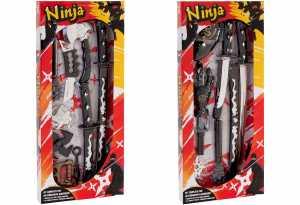 Globo Giocattoli 95.275,4cm W 'Toy Ninja Armi Playset Con Spada/di