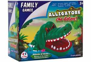 Family Games 37551 Gioco Del Dentista Con Coccodrillo
