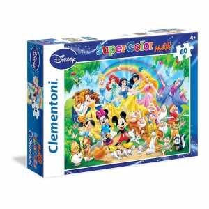 Clementoni 26408 - Puzzle Disney Clasic, 60 Maxi Pezzi, Multicolore