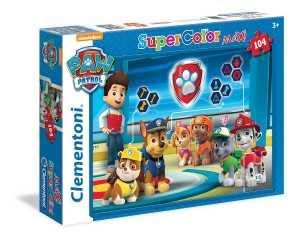 Clementoni 23972 - Paw Patrol Maxi Puzzle, 104 Pezzi