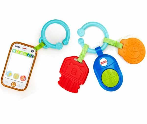 Fisher-Price Infant DFP52 - Sonaglino Musicale Chiavi, Multicolore