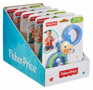 Fisher Price Infant CGR93 - Dentaruolo Scimmietta, Multicolore