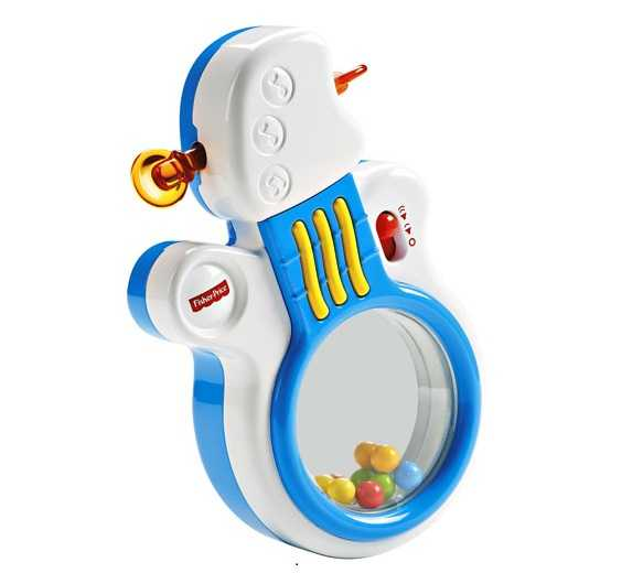 Fisher Price Infant DFP21 - Chitarra Rock'n'Roll, Multicolore