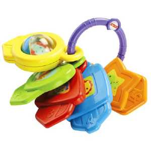 Fisher Price Infant CMY40 - Chiavi Forme E Colori, Multicolore