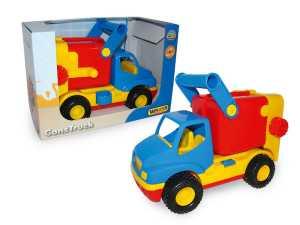 Cavallino 37688 - Construck Camion Porta Rifiuti In Scatola