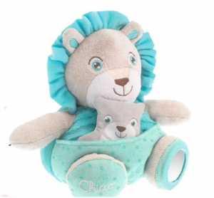 Chicco 7706 - Soft Cuddles Pupazzo, Leone, Azzurro