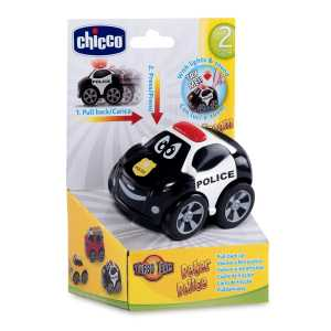 Chicco 7901 - Turbo Team Workers Macchina, Polizia