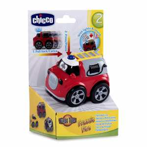 Chicco 7902 - Turbo Team Workers Macchina, Pompieri