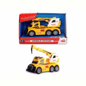 Simba 02006 - Dickie Action Series Camion C/Braccio Gru Cm.15