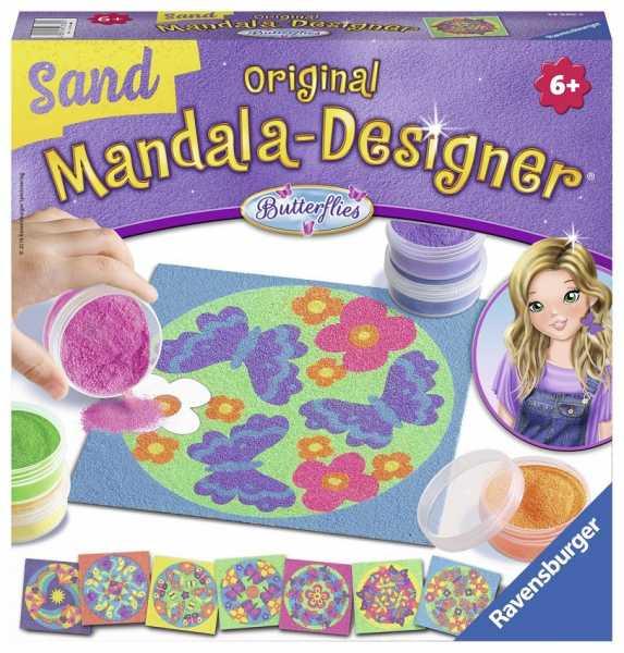 Ravensburger Italy 299010 - Mandala Designer Sand Butterflies, Multicolore