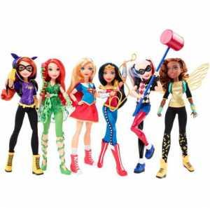 DC Super Hero Girls DLT64 - Bambola Batgirl