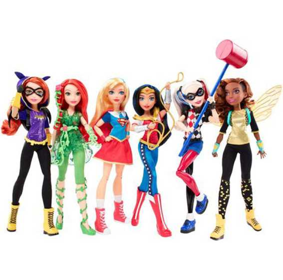 DC Super Hero Girls DLT64 - Bambola Batgirl