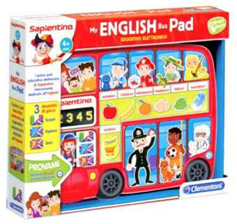 Clementoni 12064 - My English Bus