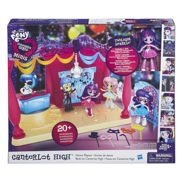 MY LITTLE PONY CASTELLO CATERLOT B6475