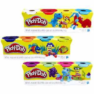 Hasbro Play-Doh Play-Doh 14073 - Pasta Da Modellare, 4 Vasetti