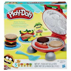 Play-Doh B5521EU4 - Burger Set, Multicolore