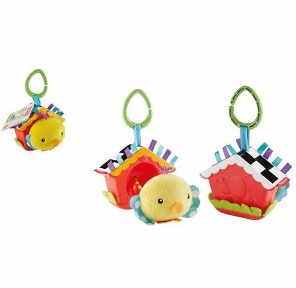 Fisher-Price Infant DFP95 - Giocattolo Uccellino Baby Cinguettio