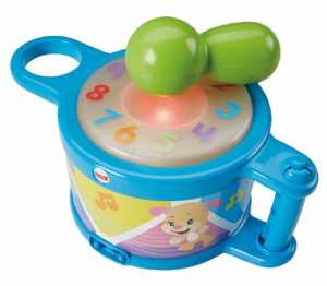 Fisher Price Infant DRB18 - Tamburello Tocca E Impara