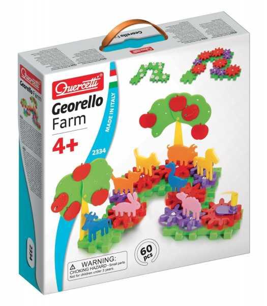 Quercetti 02334 - Gioco Georello Farm