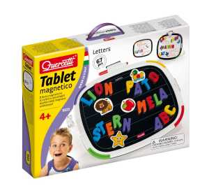 Quercetti 5321 Tablet Magnetico Basic Letters Magnetici