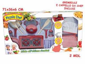 Teorema 64203 Piccolo Chef, Sfida In Cucina, 2 Modelli Assortiti
