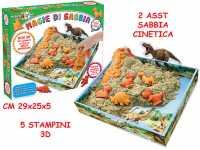 Sabbia Cinetica Dinosauri 500g - Teorema (64329)
