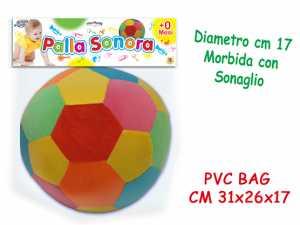 PI PALLA SONORA MORBIDA SONAGL - Teorema (61649)