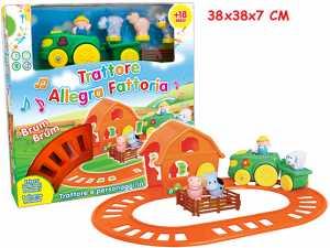 Teorema 64264 - Trattore Allegra Fattoria Con Animali, Melodie E Luci