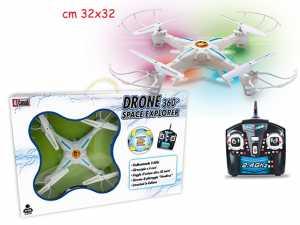 Teorema 64278 Teorema - Drone X7 Giroscopio 6 Assi 32x32, Raggio D'Azione Oltre 30 Mt